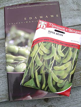 edamame, soya bean seeds