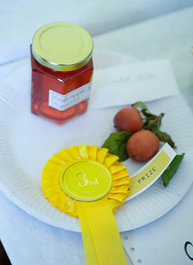 crab apple jelly at the local show