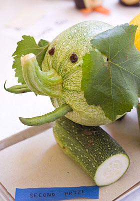 creature made from veg