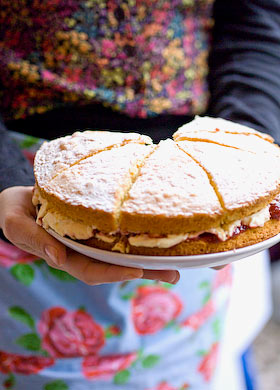 fancy a slice of victoria sponge