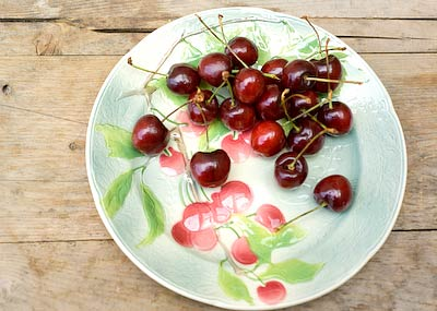 cherries work well in a rumtopf