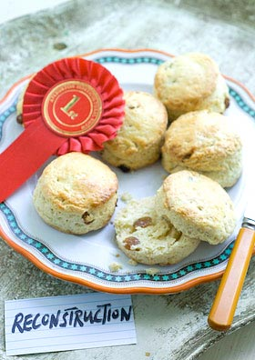 prize winning fruit scones - a reconstruction