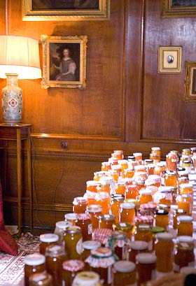 650 jars of marmalade in a stately home - Dalemain Marmalade Festival 2010