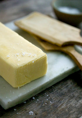 making butter, add salt or leave unsalted